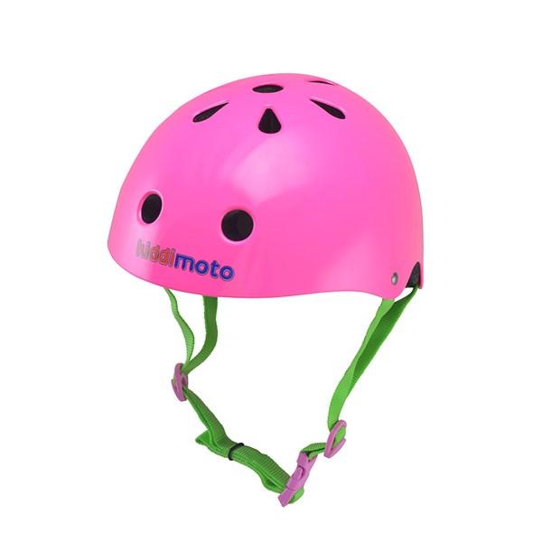 Neon Pink Helmet by Kiddimoto
