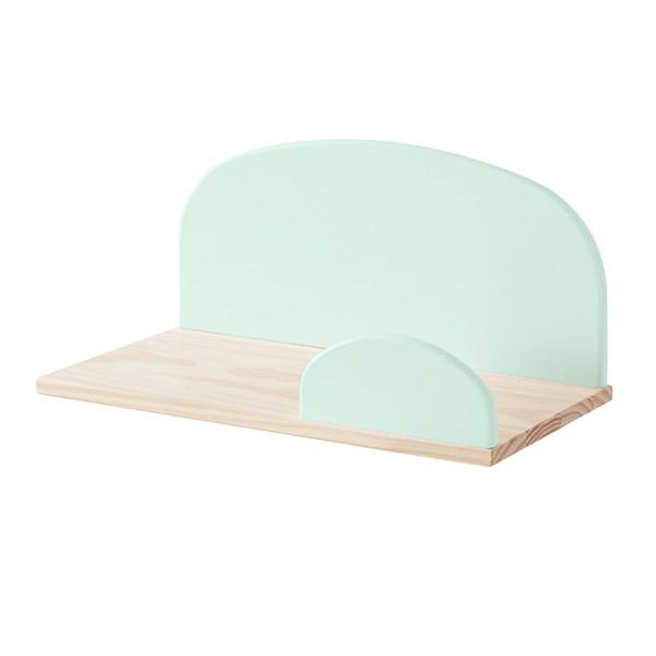 Kiddy Wall Shelf in Mint Green
