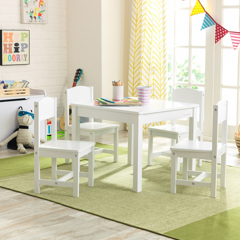 Kidkraft Farmhouse Table 4 Chairs Set Kid Kraft Cuckooland