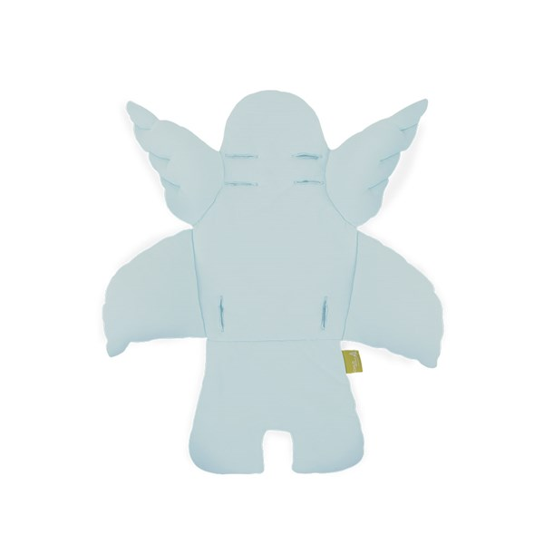 Kid's Angel Wings Cushion in Mint Blue