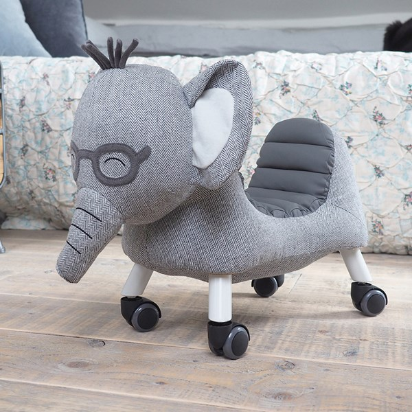 Cuthbert the Elephant Ride On with Wheels