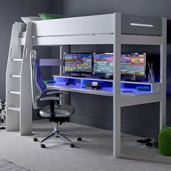 Urban Grey Console Gaming High Sleeper 4