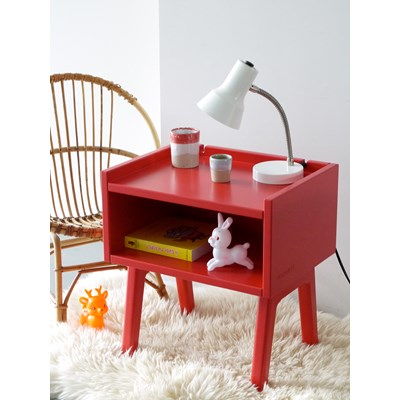 Wooden Bedside Table for Children//Toddlers in a Wood Finish