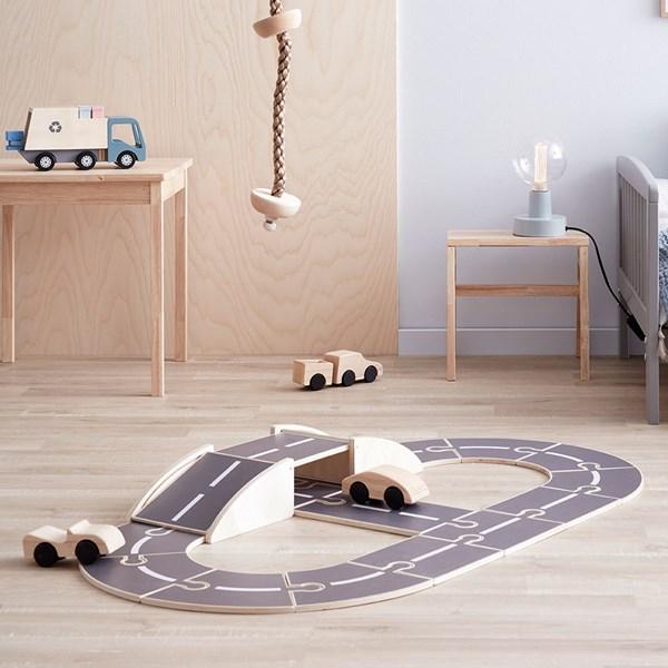 Kids Concept Children's Aiden Wooden Car Track