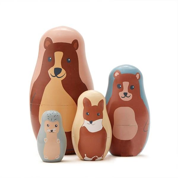 Kids Concept Decorative Wooden Nest Dolls