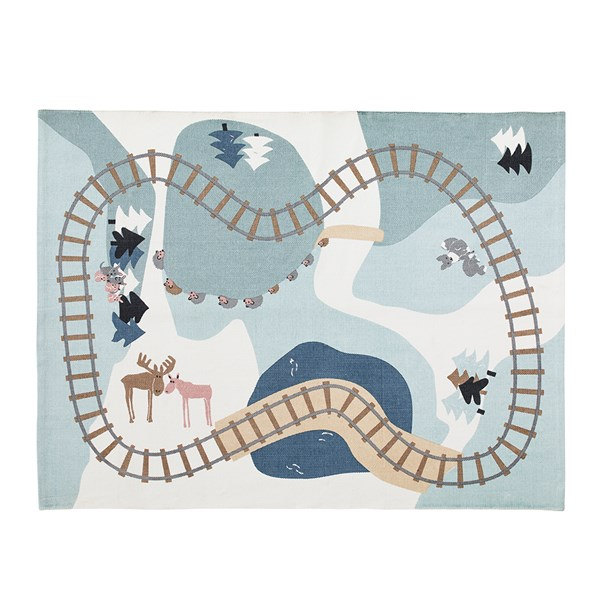 Edvin Woodland Play Mat Rug