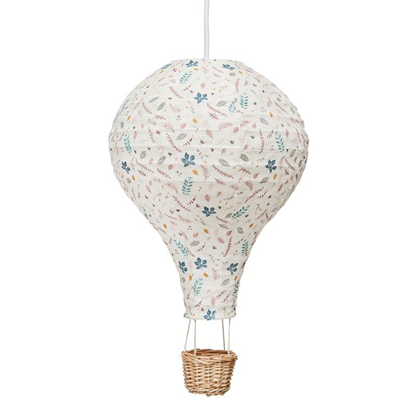 Cam Cam Copenhagen Hot Air Balloon Lamp in Pressed Leaves Rose