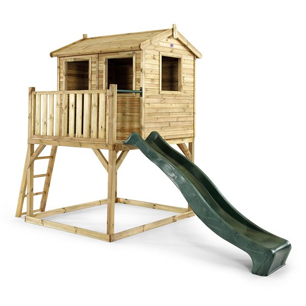 Plum Kid's Wooden Adventure Playhouse