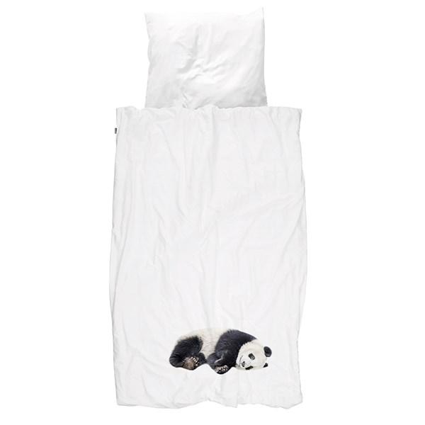 Snurk Single Lazy Panda Duvet Bedding Set