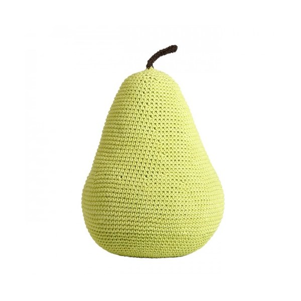 Quirky Pouffe in Pear Design for Kids