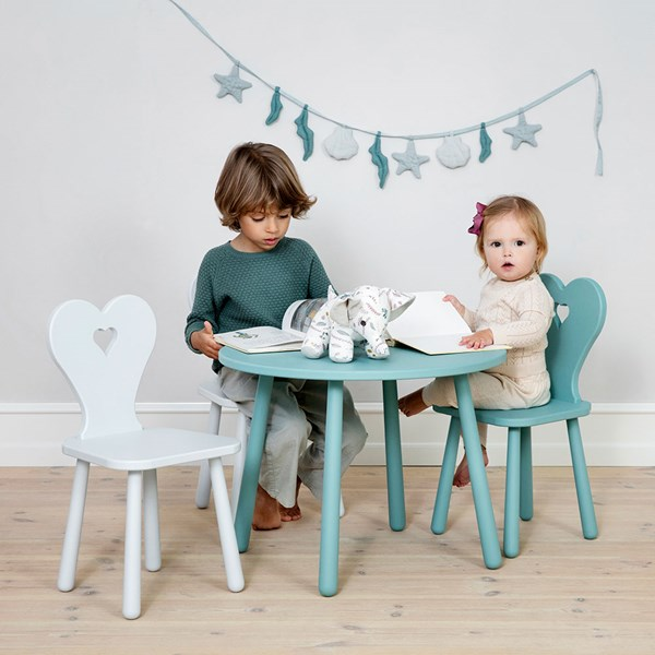 Kids Colourful Wooden Play Table