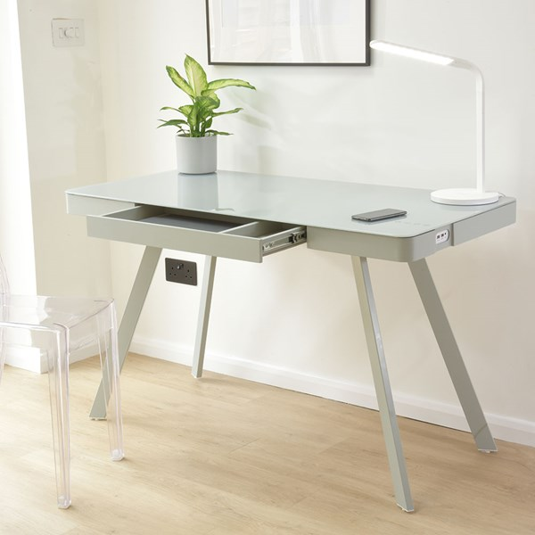 Koble Silas Smart Desk with Speakers & Wireless Charging