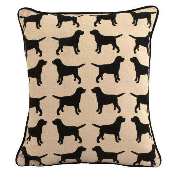 Labrador scatter cushion