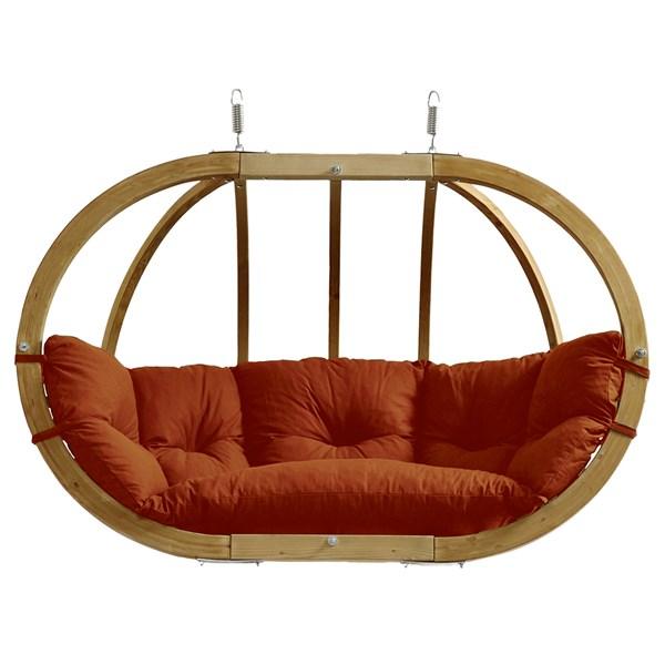 Globo Royal Hanging Chair in Terracotta