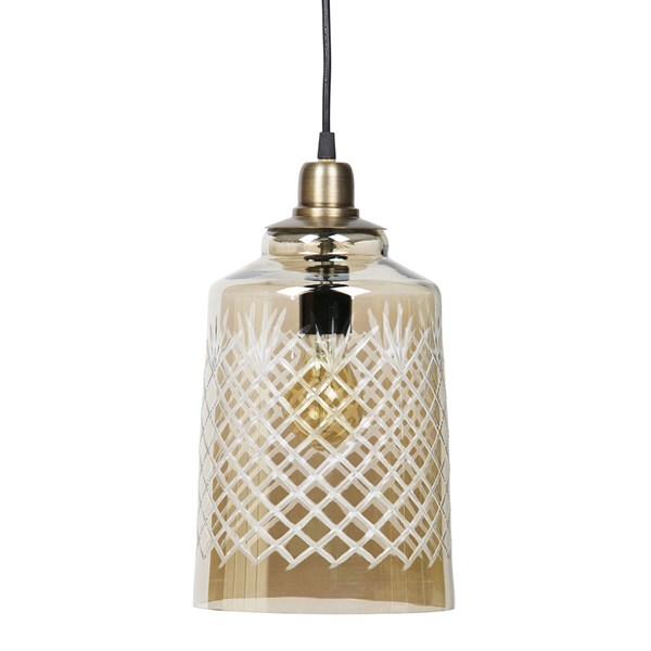 Engrave Large Hanging Lamp by BePureHome