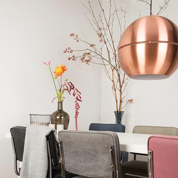Zuiver Retro Ceiling Light in Metallic Copper