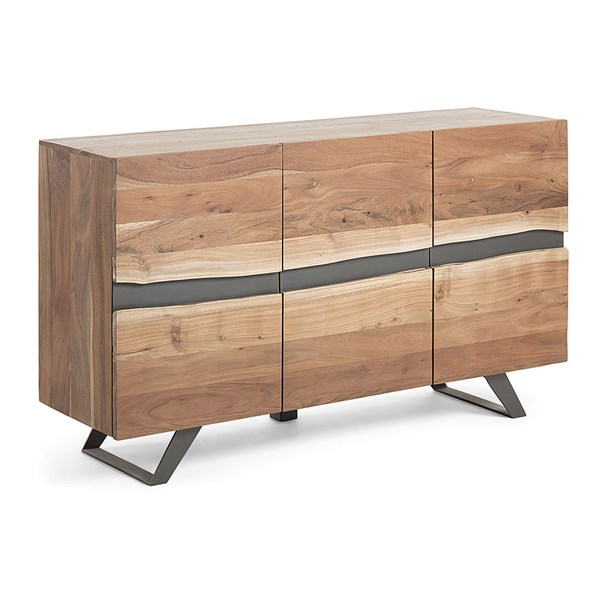 Irvin Large Acacia Wood Sideboard by La Forma