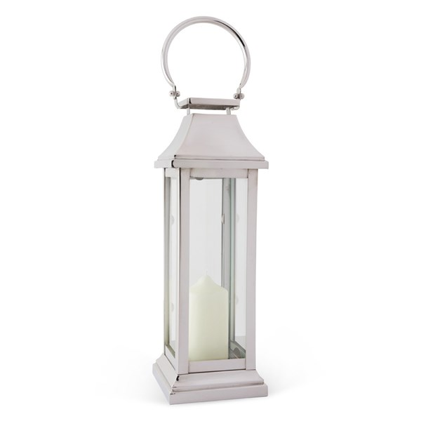 Culinary Concepts Large Station Lantern in Steel