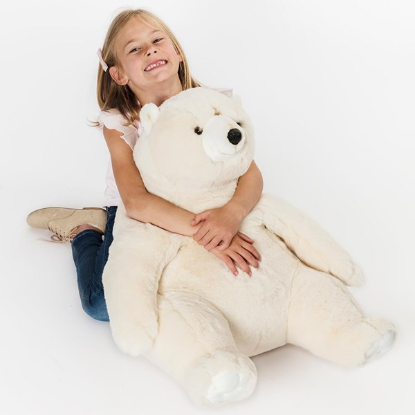 Victor the Polar Bear Kids Giant Soft Toy