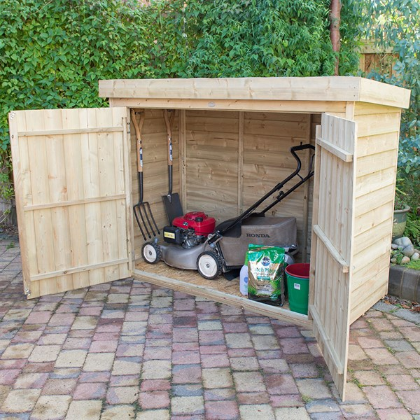 Forest Garden Pent Large Outdoor Store