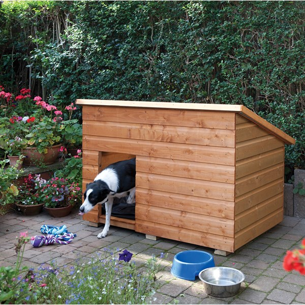 Rowlinson Large Outdoor Dog Kennel
