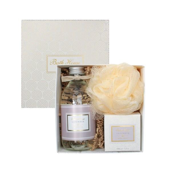 Bath House Lavender Bathe Gift Box