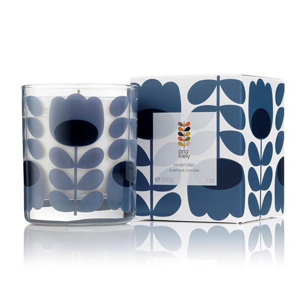 Orla Kiely Scented Candle in Lavender