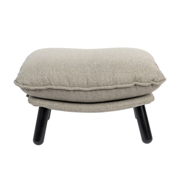 Zuiver Lazy Footstool in Light Grey