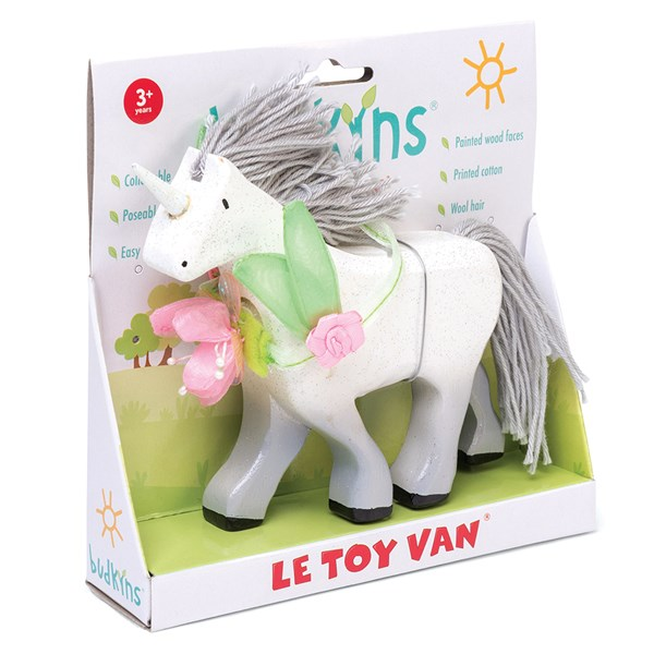 Le Toy Van Budkins Unicorn Figure