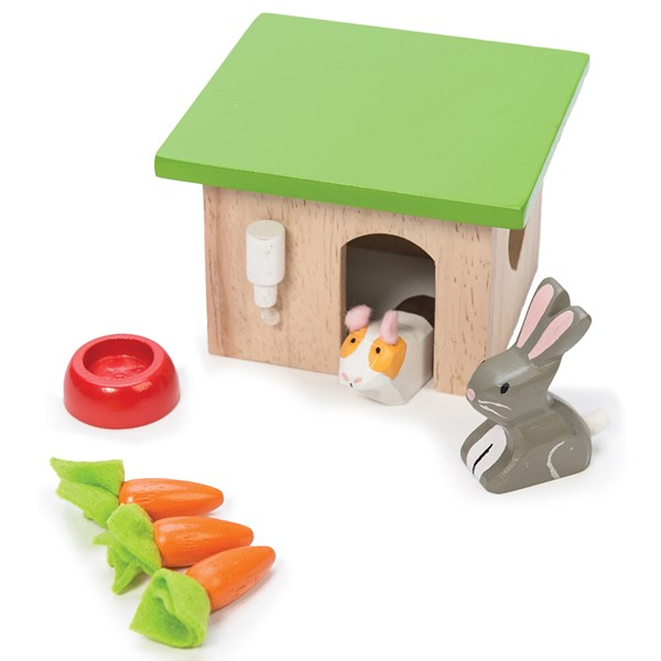 Le Toy Van Dolls House Bunny and Guinea Pig Set