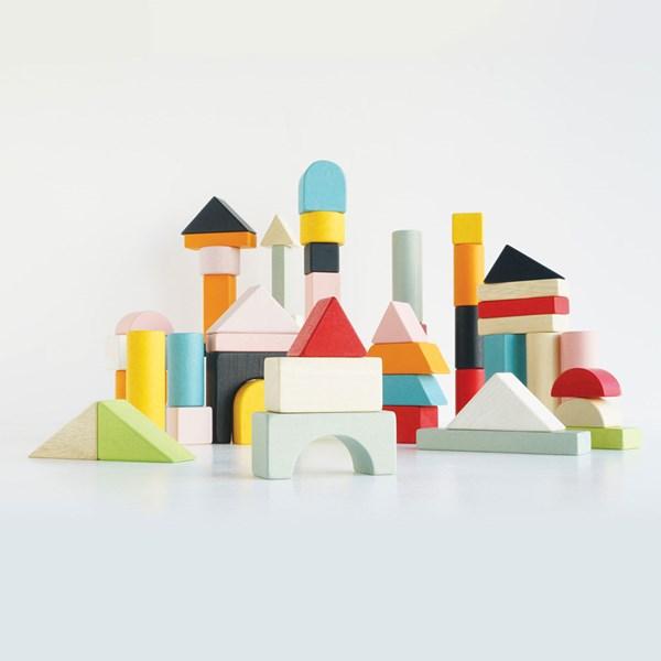 Le Toy Van Petilou Building Blocks and Bag