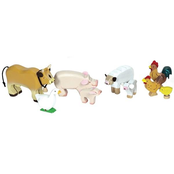 Le Toy Van Sunny Farm Animal Set