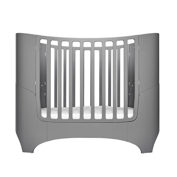 Leander Cot in Grey with Optional Extension Kit