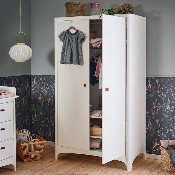 Leander Classic Wardrobe with 2 Doors