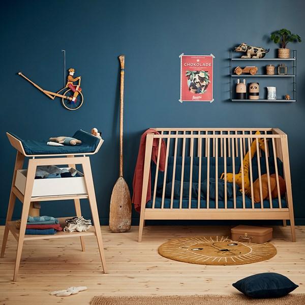 Linea Nursery & Baby's 3 Piece Furniture Set in Solid Oak
