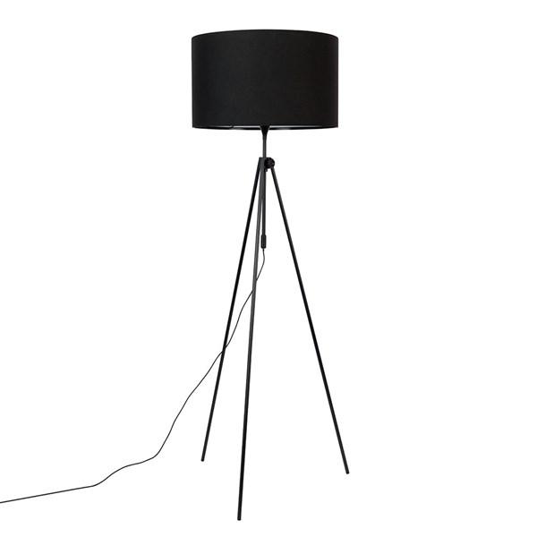 Zuiver Lesley Tripod Floor Lamp in Black