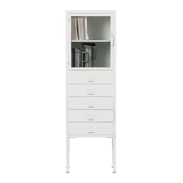 Library Metal Cabinet by Woood