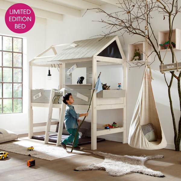 unusual kids life house cabin bed in treehouse design