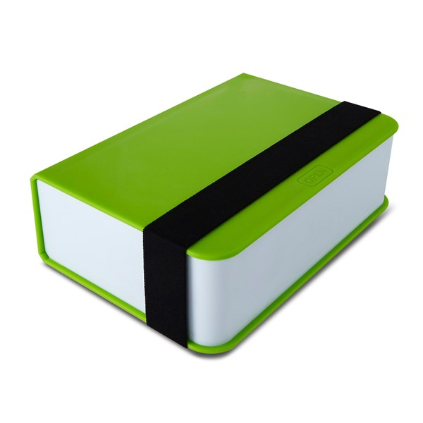 Lunch Box Book in Lime by Black and Blum