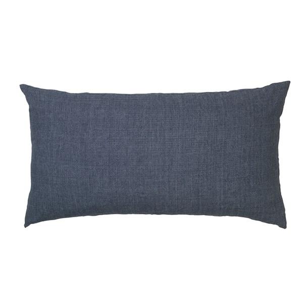 Linen Headboard Cushion in Indigo