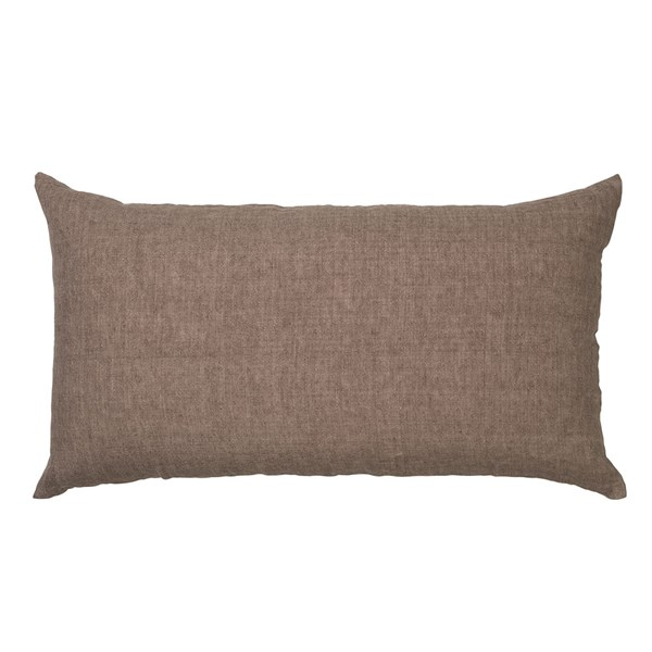 Linen Headboard Cushion in Lavender