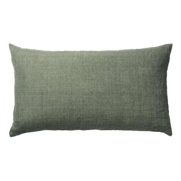 Linen Headboard Cushion in Army Green