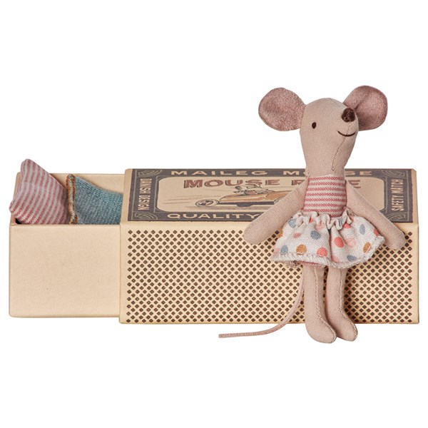 Little Sister Mouse in a Matchbox by Maileg