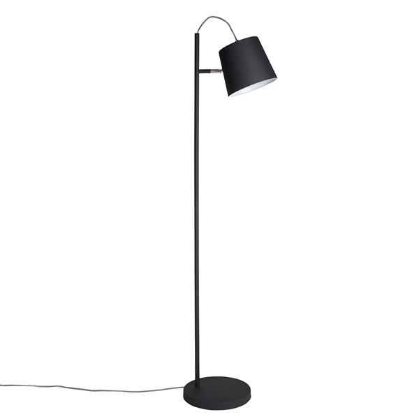 Zuiver Buckle Head Floor Lamp in Black