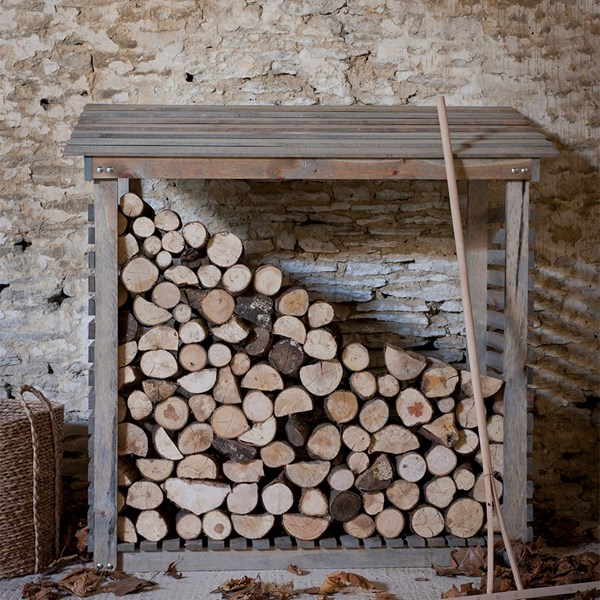 Aldsworth Wooden Log Store