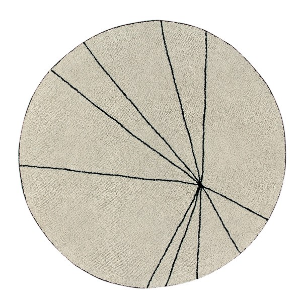 Lorena Canals Washable Trace Round Rug