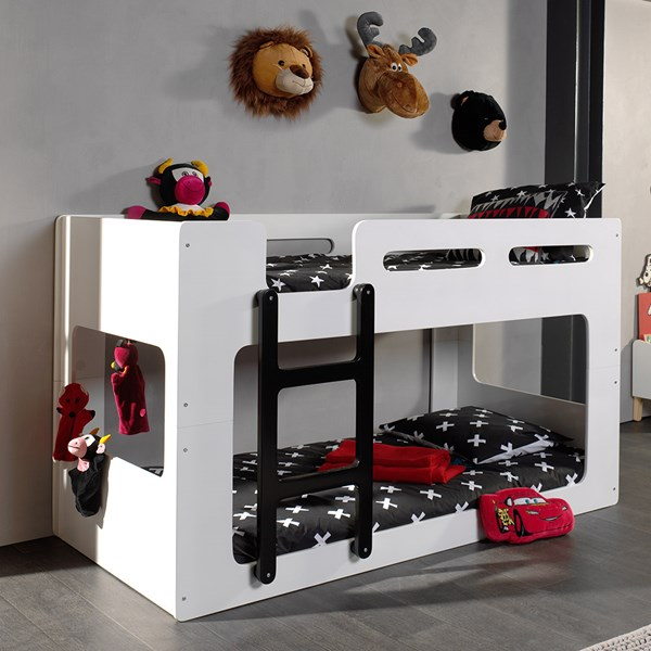Lucca Contemporary Low Bunk Bed