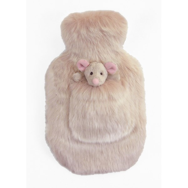 FAUX FUR Smoothie Pocket Pal Hottie with Matching Fur Toy
