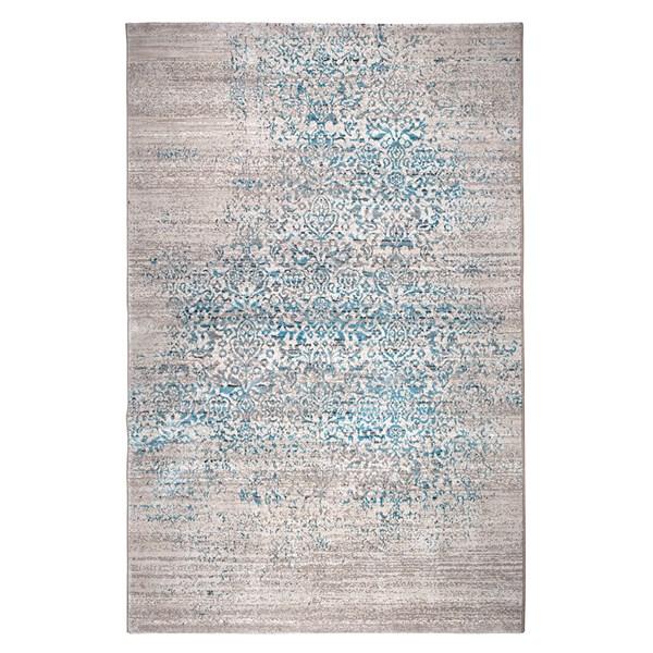 Magic Woven Floor Rug in Ocean Blue