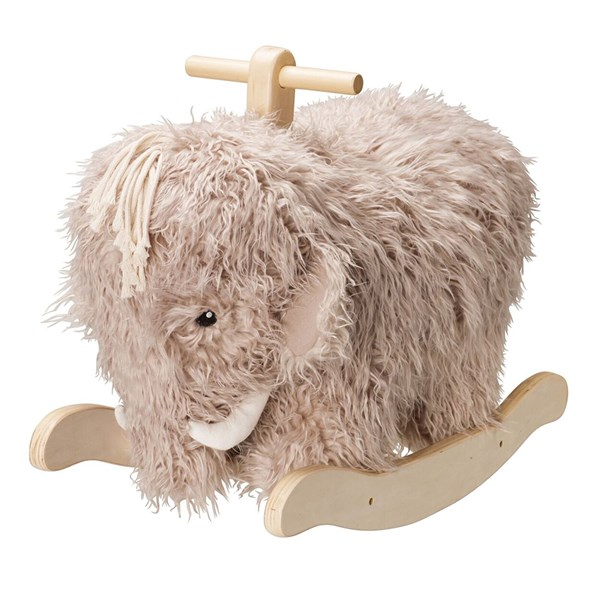 Mammoth Elephant Cute Nursery Rocking Toy